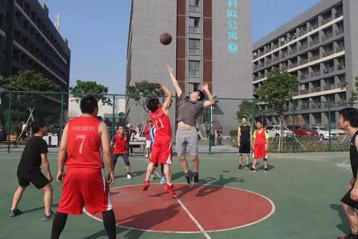员工篮球赛