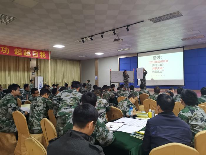 南方略刘祖轲老师在泽丰科技进行营销铁军企业内训1