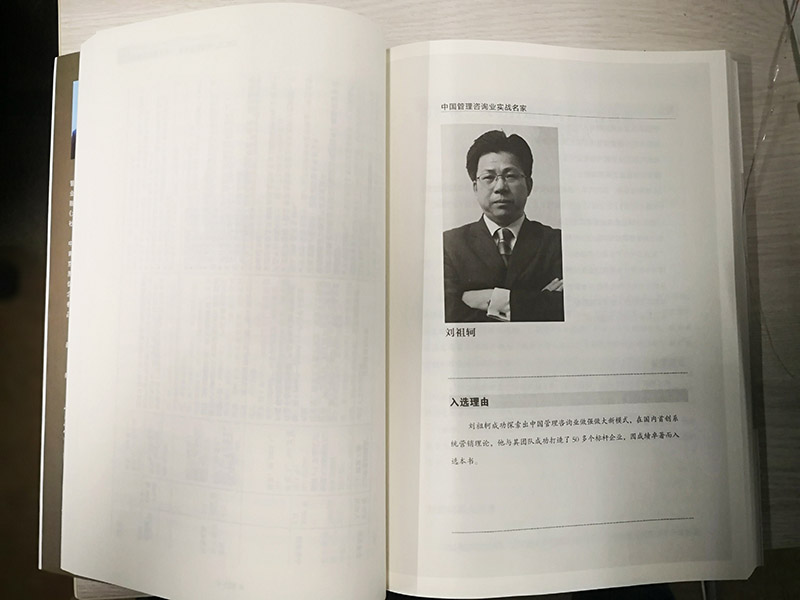 中国管理咨询业实战名家内页1