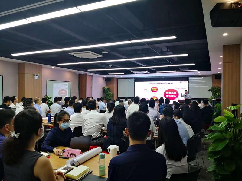 南方略咨询助力深圳帝迈医疗2020上半年总结大会2