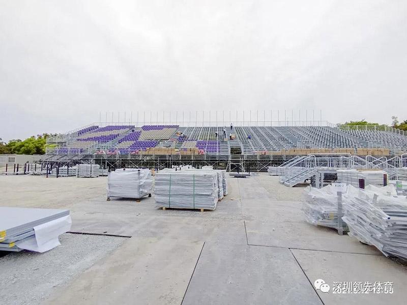 深圳领先体育看台座椅品牌亮相东京奥运赛事场馆2